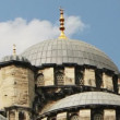 Panning shot of the yeni cami mosque in istanbul, turkey — Video Stock