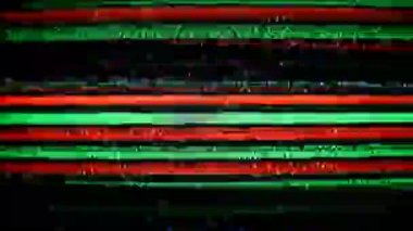 Static and electronic noise captured from an old televison — Stock Video
