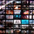 Digital animation of hd screens, all content self created — Stock Video