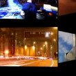 Vídeo de stock: Digital animation of hd screens, all content self created
