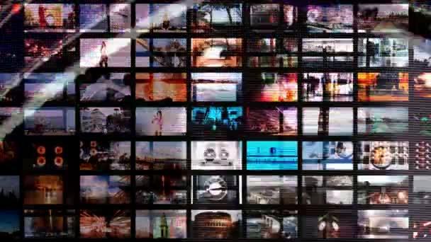 Animation numérique d'écrans hd, tout le contenu auto créé — Vidéo