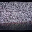 Stock video: Static and electronic noise captured from old television