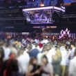 Stock Video: Crowd dancing in cool discoteque