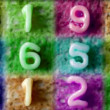 Number sequence made from spaghetti pasta letters — Stock Video #18114309