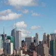 Timelapse of midtown manhattskyline — Stock Video #18114345