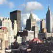Timelapse of midtown manhattan skyline with the empire state - Lizenzfreies Foto