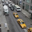 View of manhattstreet scene shot from high line park — Stock Video #18114733