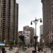 Time-lapse of the flatiron building in new york — Stock Video