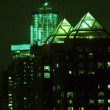 Abstract shaky old film style timelapse of manhattan skyline - Photo