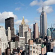 Timelapse of midtown manhattskyline — Stock Video #18470999