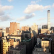 Timelapse of midtown manhattskyline — Stock Video #18471135
