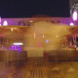 Time-lapse of the terrace of an exclusive club — Stock Video