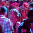 Stock Video: Audience dancing at nightclub