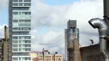 Rápido alterar a seqüência de imagens sobrepostas de nova york — Vídeo Stock
