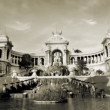 Timelapse of palais longchamp, marseille — Stock Video #18480159