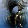 Video sequence made from shots of headphones — Stok Video #18507011