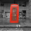 Sequence of images of london's famous red telephone boxes  — Stock Video
