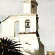 Timelapse of the church in san miguel de allende - Stock Photo