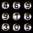 Number sequence - Stock Photo