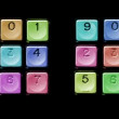 Abstract number sequences — Stock Video