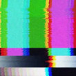 A tv testcard pattern - Stock Photo