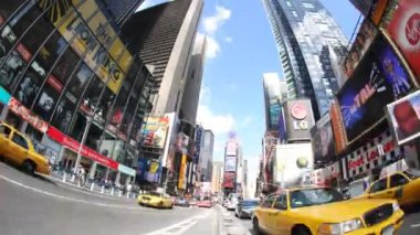 Times square, new york — Stock Video