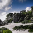 Time-lapse of the mayan ruins at tulum — Vidéo