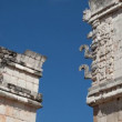 Timelapse shot of the mayan ruins at uxmal — Stock Video
