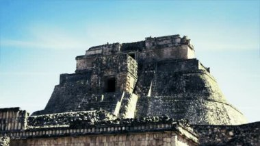 Timelapse shot of the mayan ruins at uxmal — Stock Video #19062853