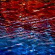 Abstract pattern made from shot of reflections in water — Stockvideo