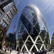 Stock Photo: Gherkin fisheye