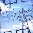 Electricity pylons — Stock Photo #28433845