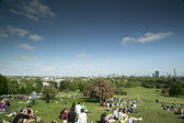 Primrose hill — Stock Photo