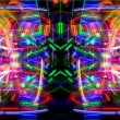 Abstract light pattern — Foto Stock