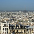 Stock Photo: Paris skyline