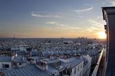 Paříž střechy — Stock fotografie