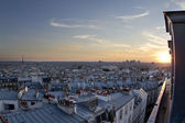 Paris rooftops — Stock Photo