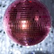 Pink discoball — Stock Photo #40646951