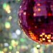 Pink discoball — Stock Photo #40647235