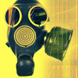 Stock Photo: Gas mask