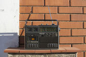 Radio outside — Stock Photo