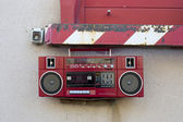 Radio outside — Stockfoto