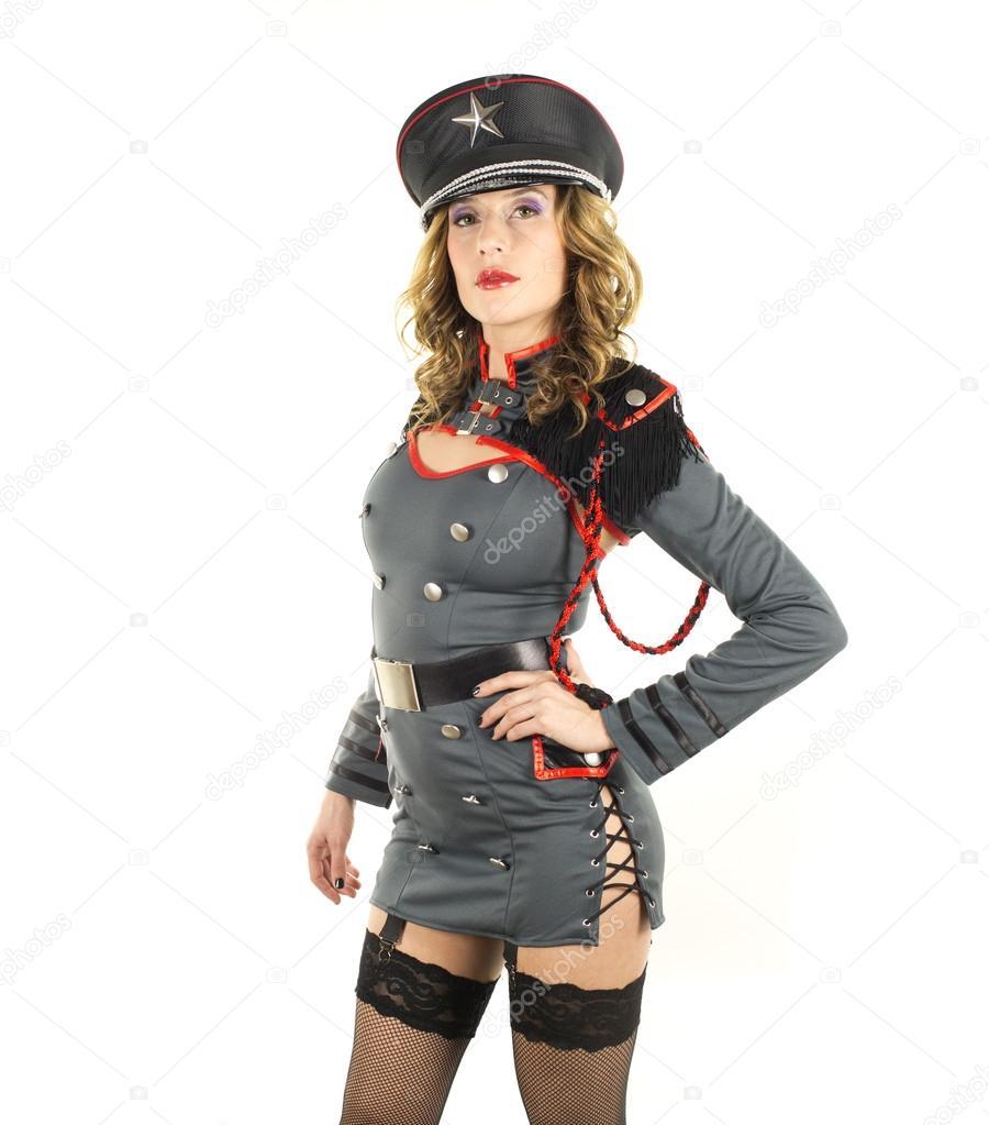 Сексуальные девушки в военной форме 11 фотография