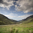 Loch maree and mountain landscape in the scottish highlands — Stock Photo #48114481
