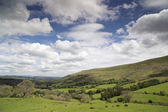 Welsh countryside in the brecon beacons — Stock Photo