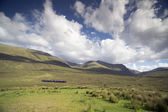 Beautiful scottish highlands scenery — Stock Photo