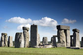 Stonehenge ancient stone cirle — Stock Photo
