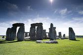 Stonehenge ancient stone cirle — Stock Photo