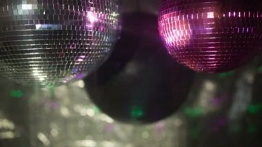 Discoball video — Stockvideo