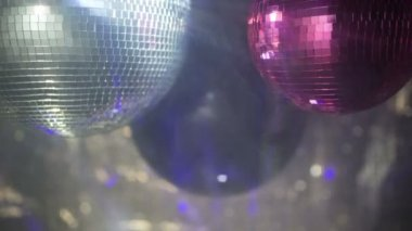 Discoball video — Wideo stockowe